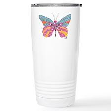 Butterfly Blogger Original Art Travel Mug