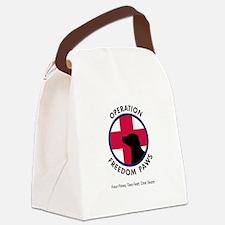 OFP Logo Canvas Lunch Bag