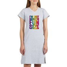 IM NOT SHORT IM FUN SIZE Women's Nightshirt