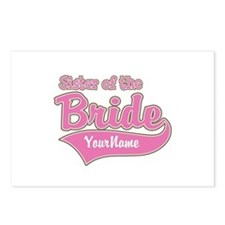 Sister of the Bride Postcards (Package of 8)