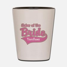 Sister of the Bride Shot Glass