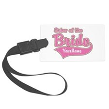 Sister of the Bride Luggage Tag