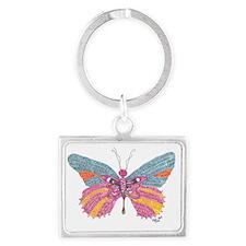 Butterfly Blogger Original Art Landscape Keychain