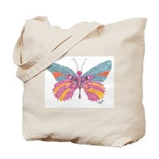 Butterfly Blogger Original Art Tote Bag