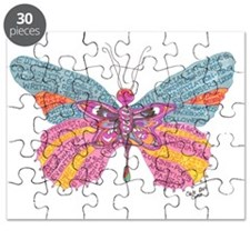 Butterfly Blogger Original Art Puzzle