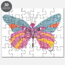 Butterfly Blogger Original Art Puzzle
