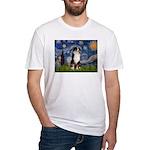 Starry - Tri Aussie Shep2 Fitted T-Shirt