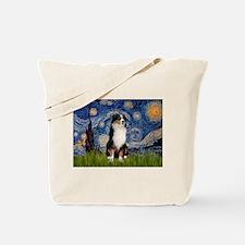 Starry - Tri Aussie Shep2 Tote Bag