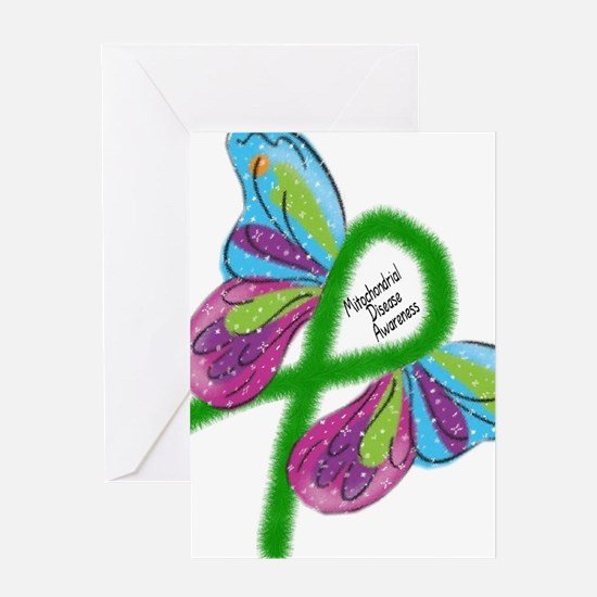 Mito Butterfly Greeting Cards