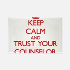 Keep Calm and trust your Counselor Magnets