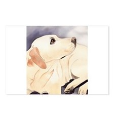 Yellow Lab #1 Items Postcards (Package of 8)