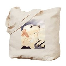 Yellow Lab #1 Items Tote Bag