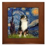 Starry - Tri Aussie Shep2 Framed Tile