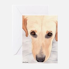 Yellow Lab #3 Stuff Greeting Cards (Pk of 10)