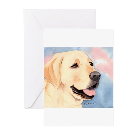 Yellow Lab #2 Merchandise! Greeting Cards (Package