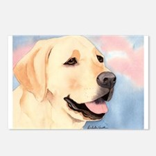 Yellow Lab #2 Merchandise! Postcards (Package of 8