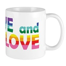 Live Let Love AZ Mug