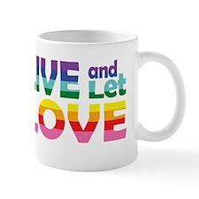 Live Let Love CO Mug