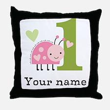 Ladybug (1) Throw Pillow