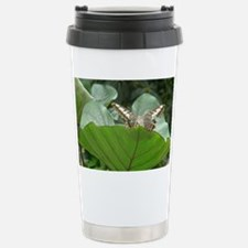 Butterfly on a Plant Travel Mug