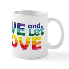 Live Let Love Wv Mugs
