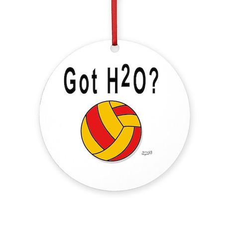 H2O Polo Ornament (Round)