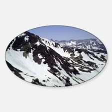 Snowy Mountains Decal