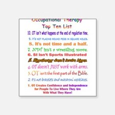 """Unique Occupational therapy assistant Square Sticker 3"""" x 3"""""""