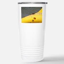 Dragonfly on a Kayak Travel Mug