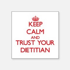 Keep Calm and trust your Dietitian Sticker