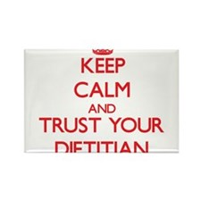 Keep Calm and trust your Dietitian Magnets