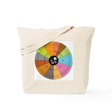 Whiskey Wheel Tote Bag