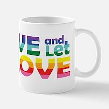 Live Let Love Wa Mugs
