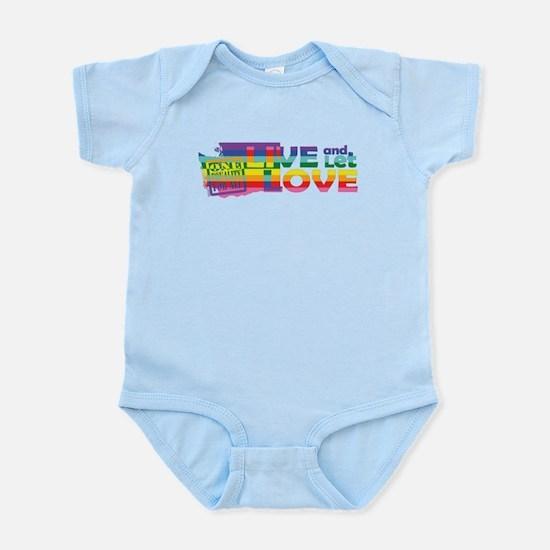 Live Let Love WA Body Suit