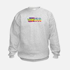 Live Let Love WA Sweatshirt