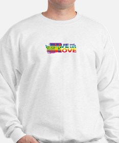 Live Let Love WA Sweatshirt