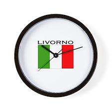 Livorno, Italy Wall Clock