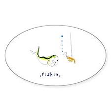 Fishin Decal