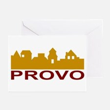 Provo Skyline Greeting Cards (Pk of 10)