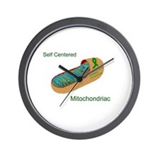Self Centered Mitochondriac.jpg Wall Clock