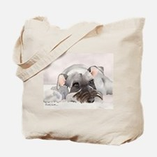Miniature Schnauzer Stuff! Tote Bag