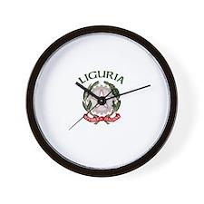 Liguria, Italy  Wall Clock