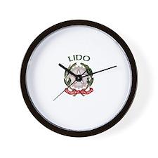 Lido, Italy Wall Clock