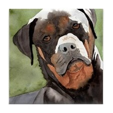 Rottweiler Gifts! Tile Coaster