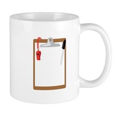 Clipboard Whistle Mugs