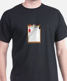 Clipboard Whistle T-Shirt