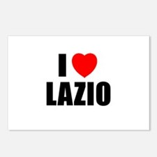 I Love Lazio, Italy Postcards (Package of 8)