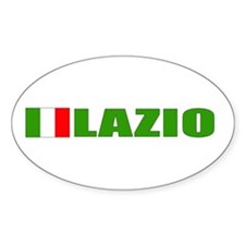 Lazio, Italy Oval Decal