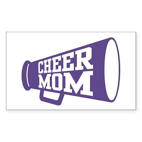 Cheer Mom Rectangle Sticker