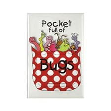 Pocket full of Bugs! #2 Rectangle Magnet